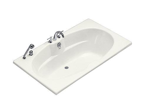 kohler 6 feet bathtub in white | the home depot canada
