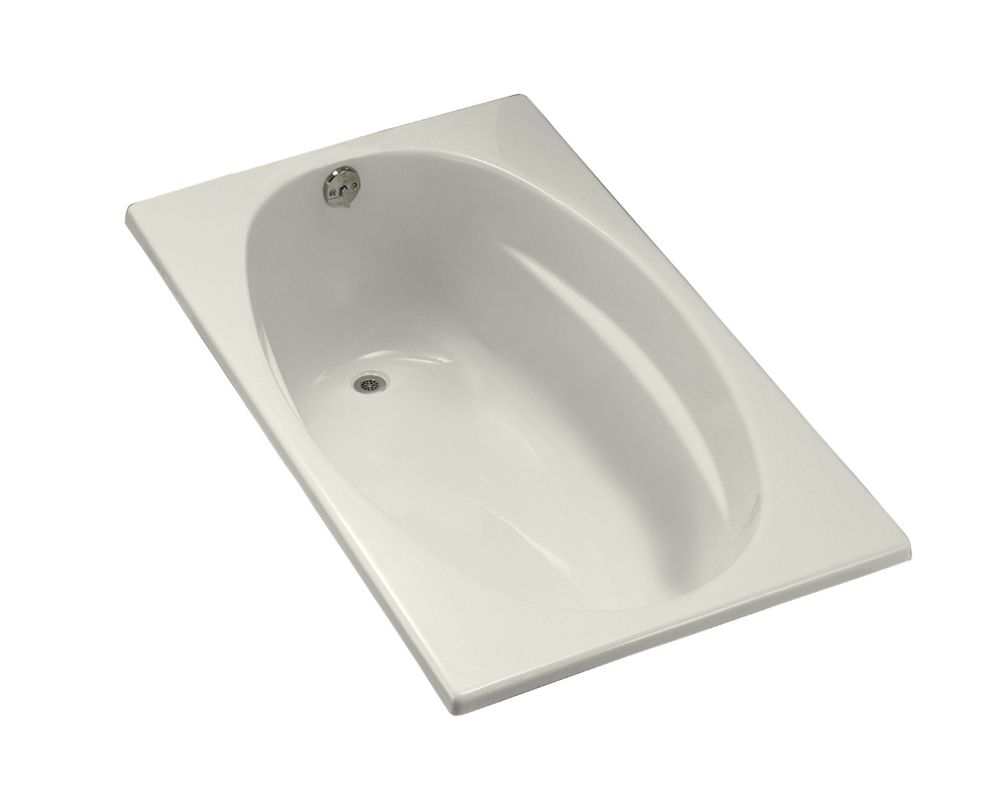 KOHLER 5 Feet Acrylic Bathtub in Biscuit