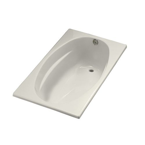 """KOHLER 6036 60"""" x 36"""" alcove bath with integral flange and right-hand drain"""