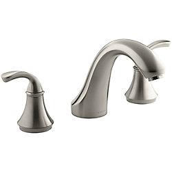 KOHLER Robinetterie de baignoire Forte, montage en surface, pour robinet a haut debit, robinet non inclus