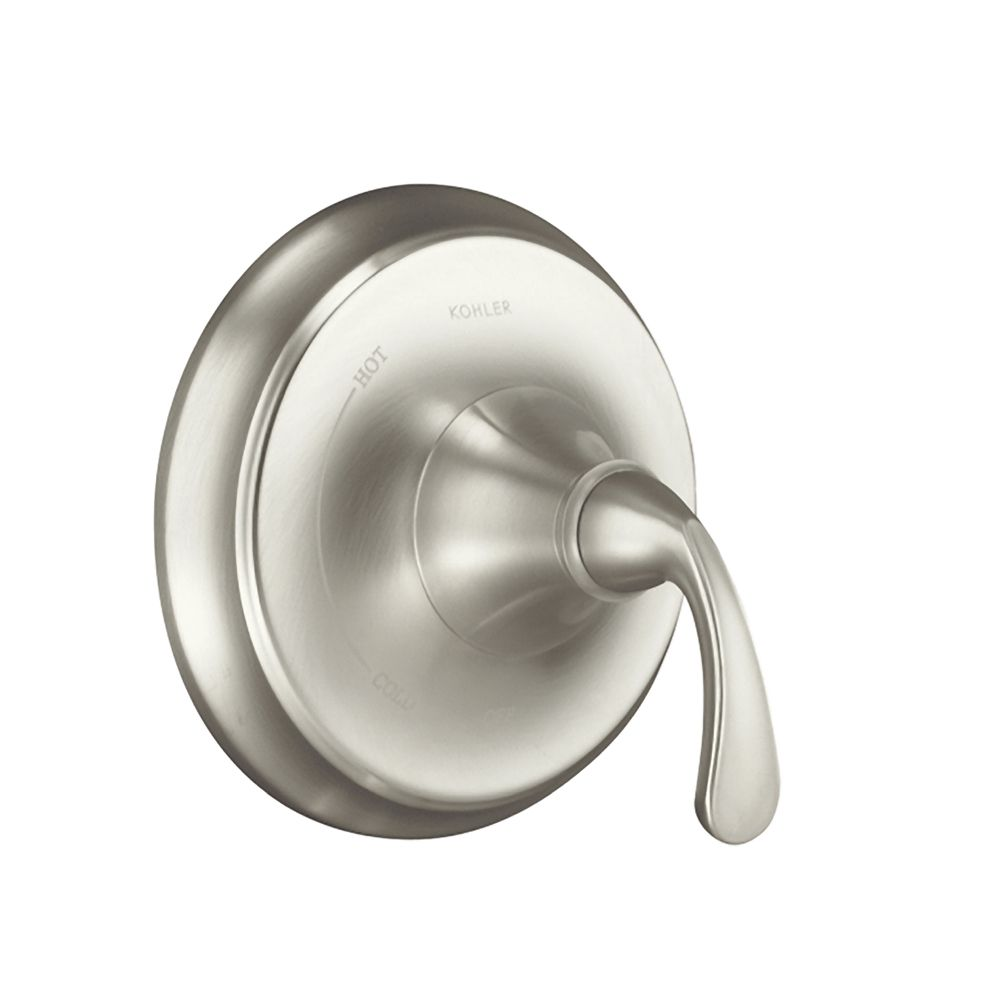Forté Rite-Temp Pressure-Balancing Valve Trim, Valve Not Included in Vibrant Brushed Nickel