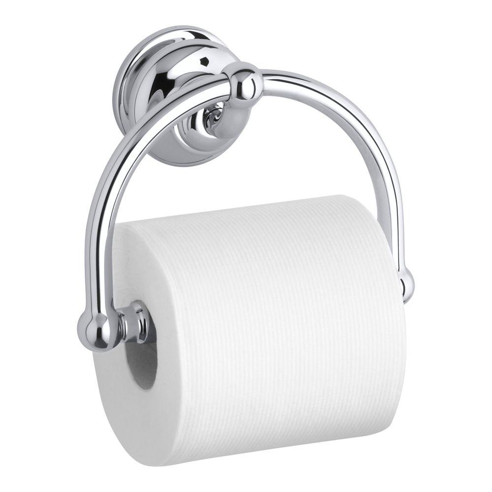 Fairfax Toilet Tissue Holder in Polished Chrome
