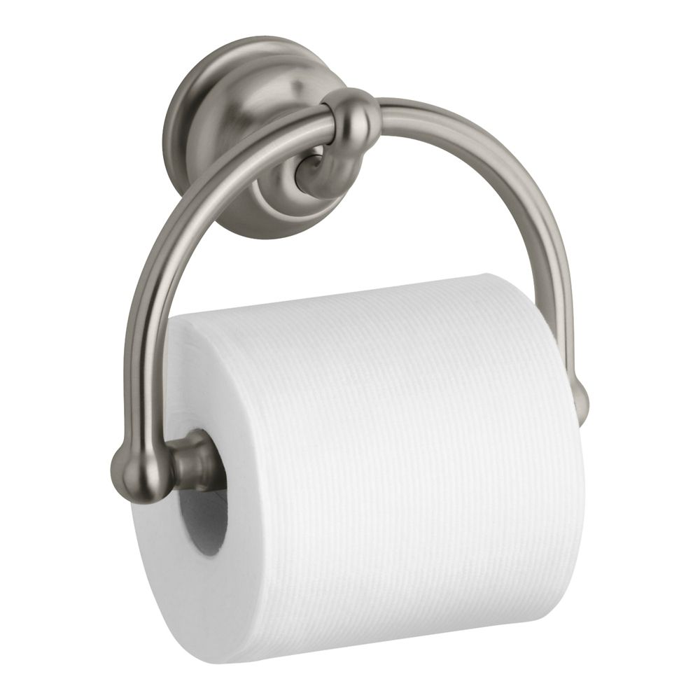 Fairfax Toilet Tissue Holder in Vibrant Brushed Nickel