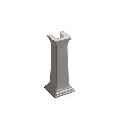 Memoirs Bathroom Sink Pedestal in Cashmere