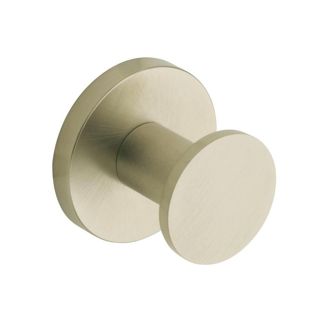 Stillness Robe Hook in Vibrant Brushed Nickel