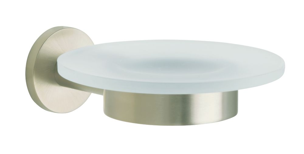 Stillness Soap Dish in Vibrant Brushed Nickel K-14461-BN Canada Discount