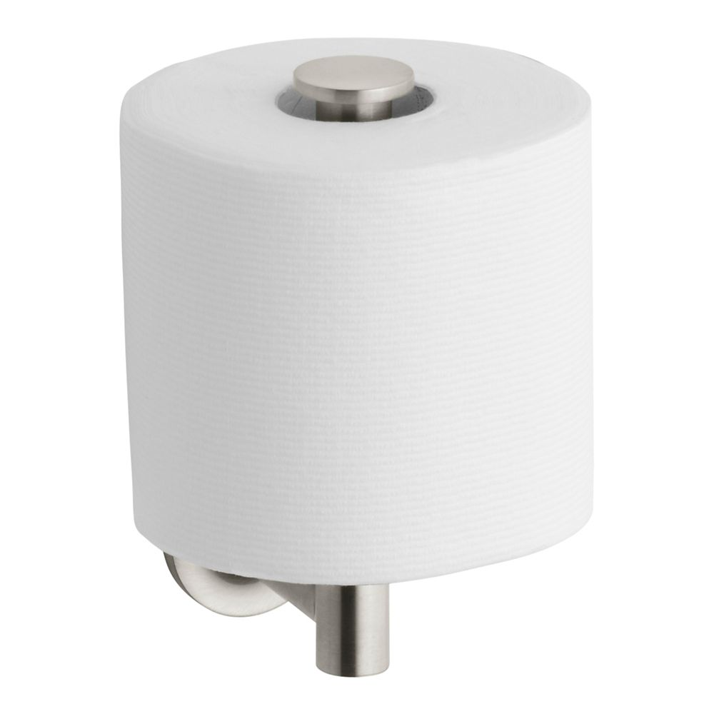 Purist Toilet Tissue Holder in Vibrant Brushed Nickel