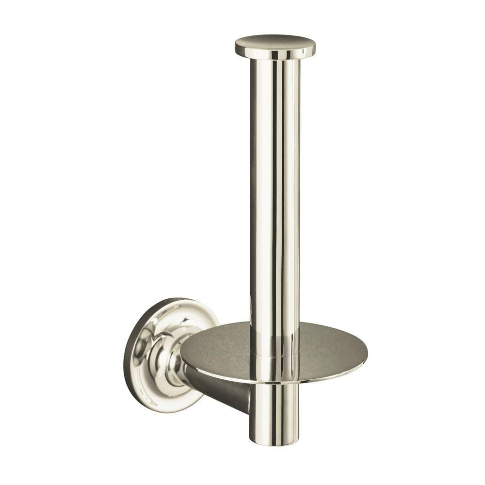Purist Toilet Tissue Holder in Vibrant Polished Nickel