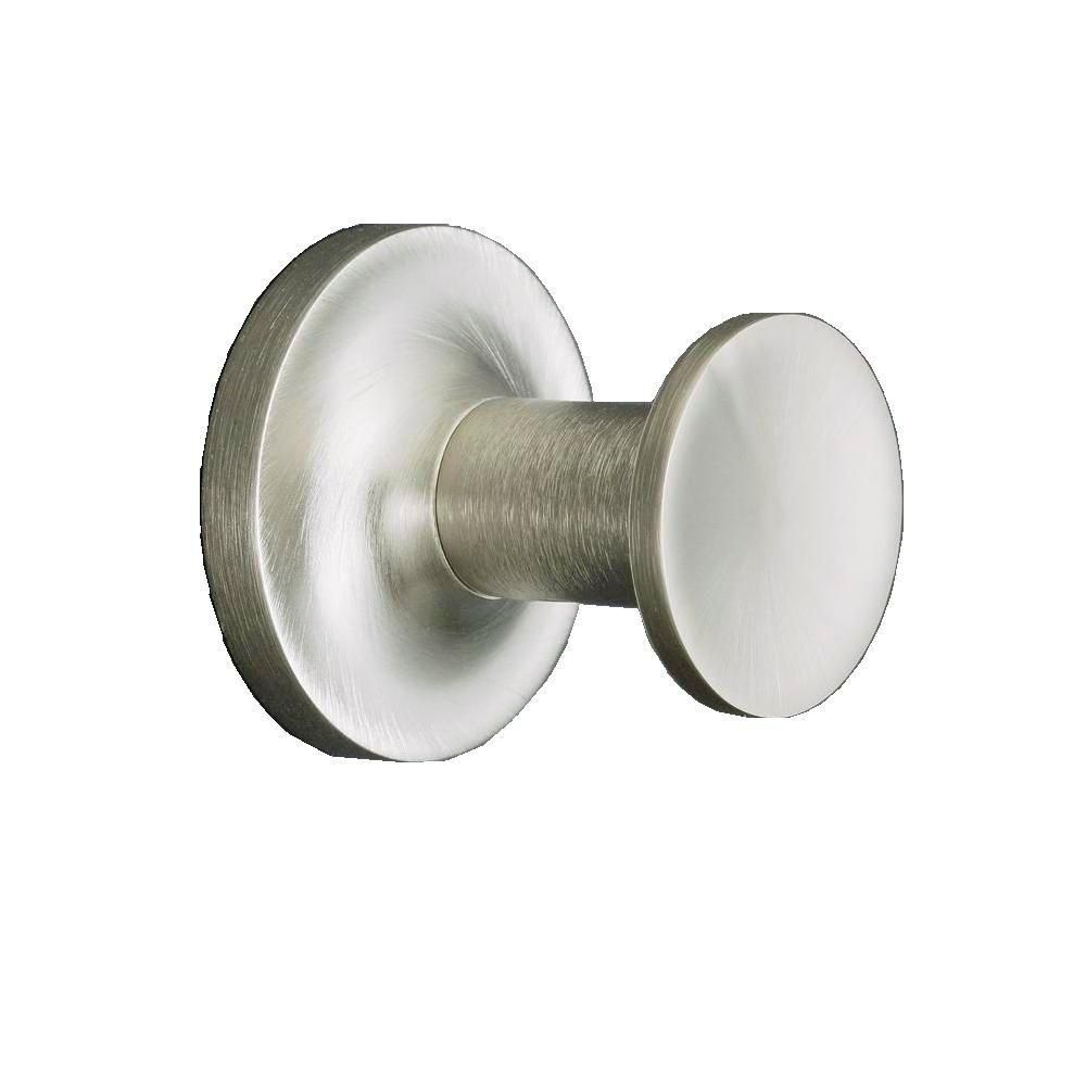 Purist Robe Hook in Vibrant Brushed Nickel