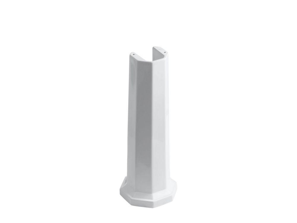 Kathryn Bathroom Sink Pedestal in White