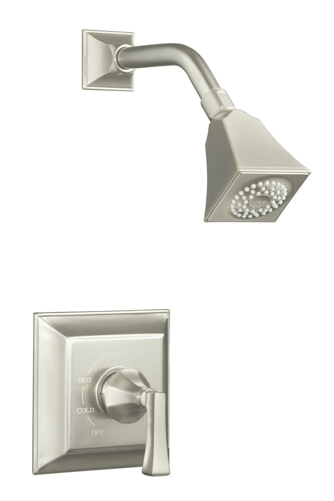 Memoirs Rite-Temp Pressure-Balancing Shower Faucet in Vibrant Brushed Nickel