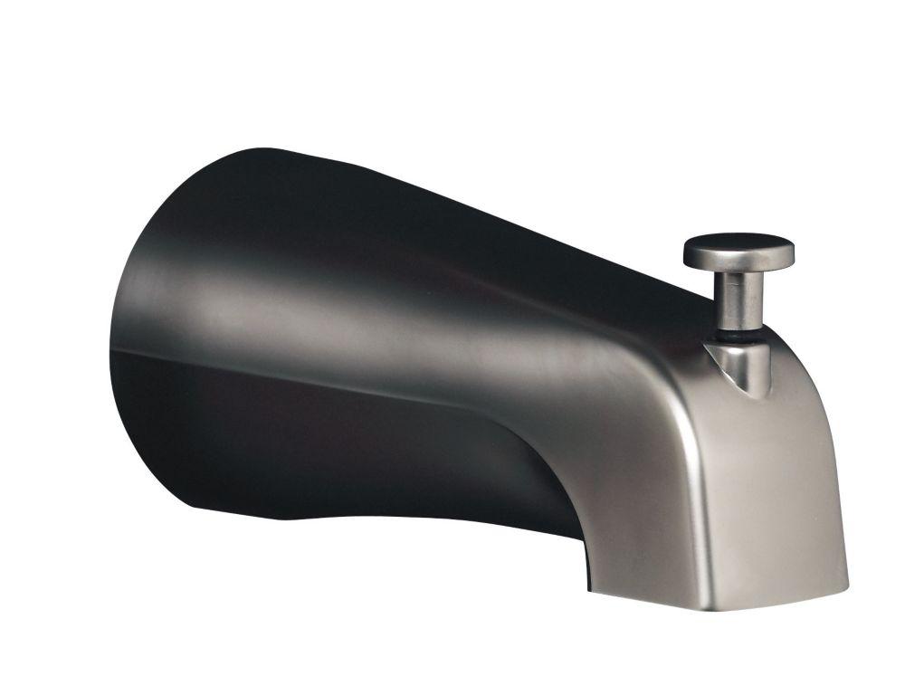 Bec de baignoire inverseur Devonshire(R) 4-7/16 po avec connexion glissante
