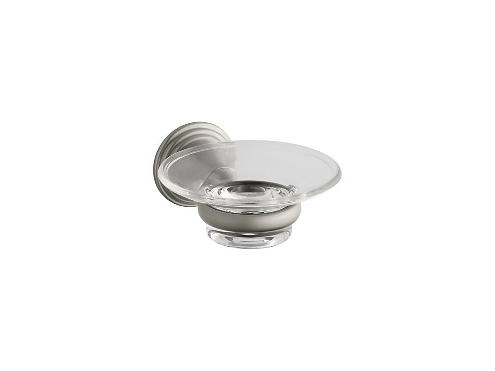 Devonshire Soap Dish in Vibrant Brushed Nickel