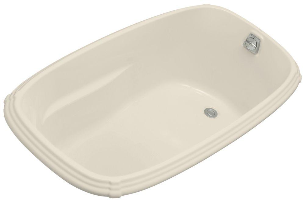 KOHLER Portrait 5 Feet Acrylic Drop-in Non Whirlpool Bathtub in Almond