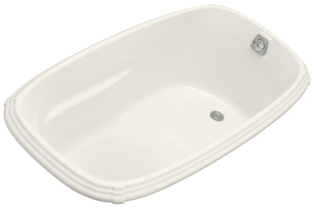 KOHLER Portrait 5 Feet Acrylic Drop-in Non Whirlpool Bathtub in Biscuit