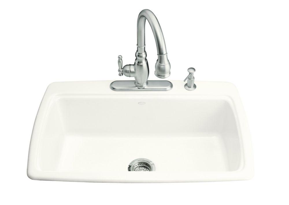 Cape Dory Self-Rimming Kitchen Sink in White