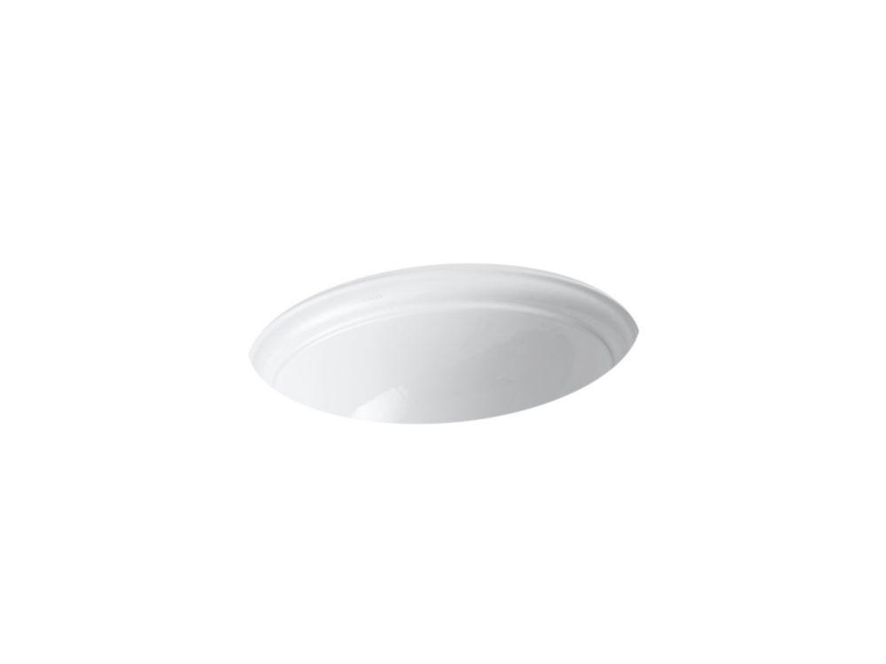 KOHLER Verticyl Rectangular Undercounter Bathroom Sink In