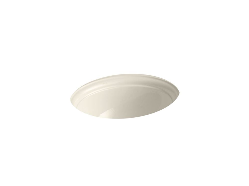 Devonshire Undercounter Bathroom Sink in Almond
