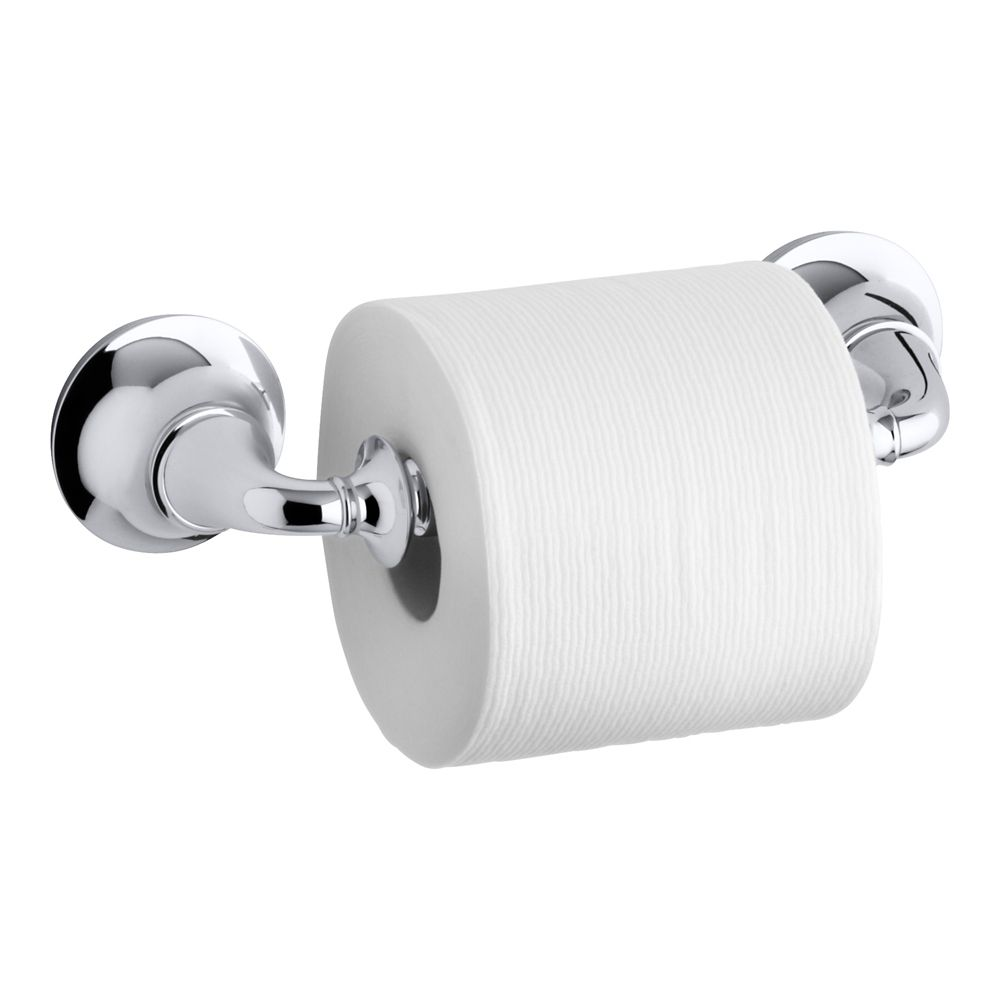 Forte Traditional Toilet Tissue Holder in Polished Chrome