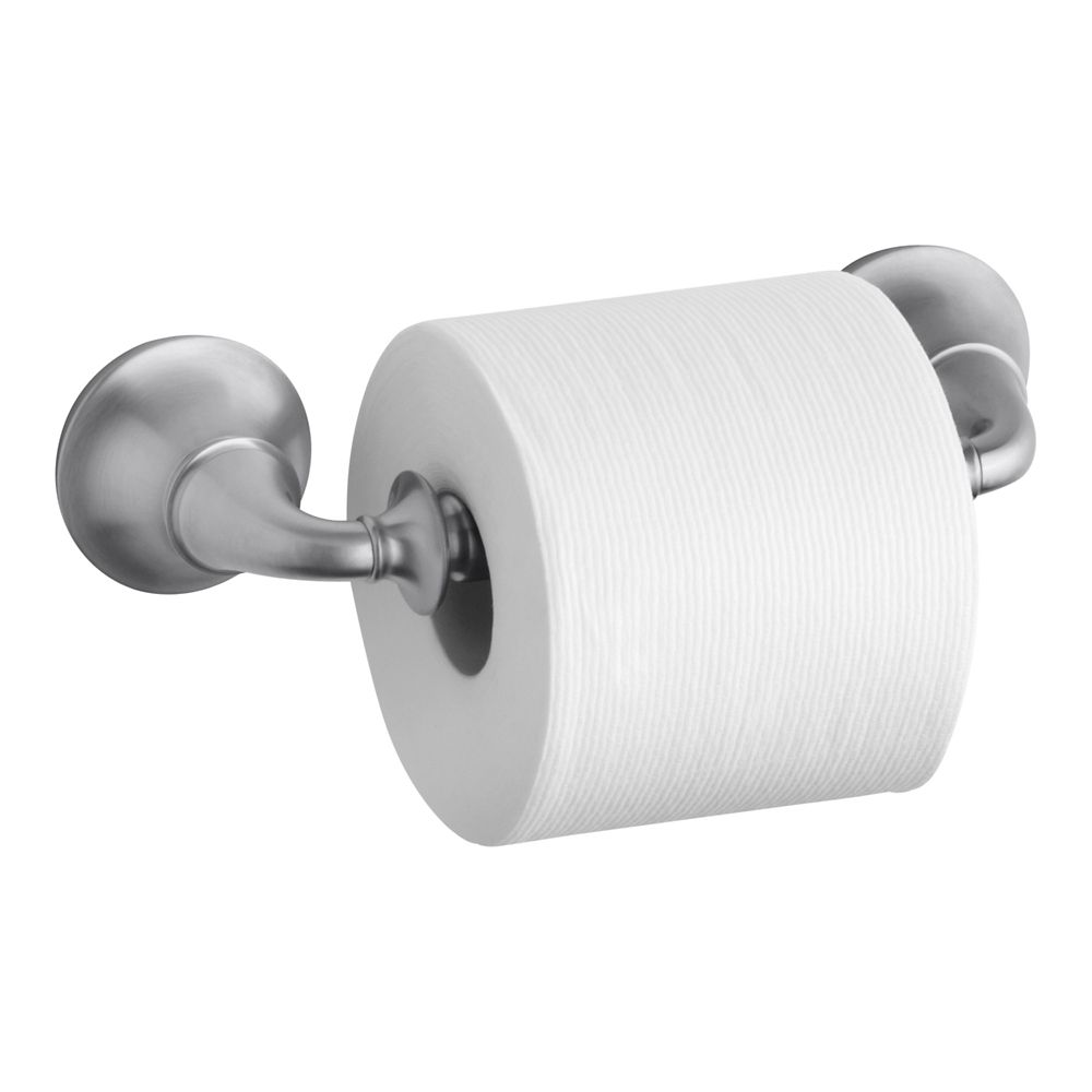 Forté Traditional Toilet Tissue Holder in Brushed Chrome