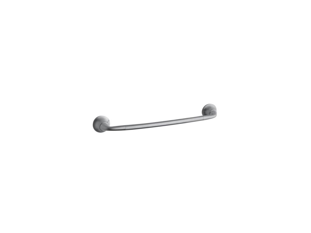 Forté 18 Inch Sculpted Towel Bar in Brushed Chrome