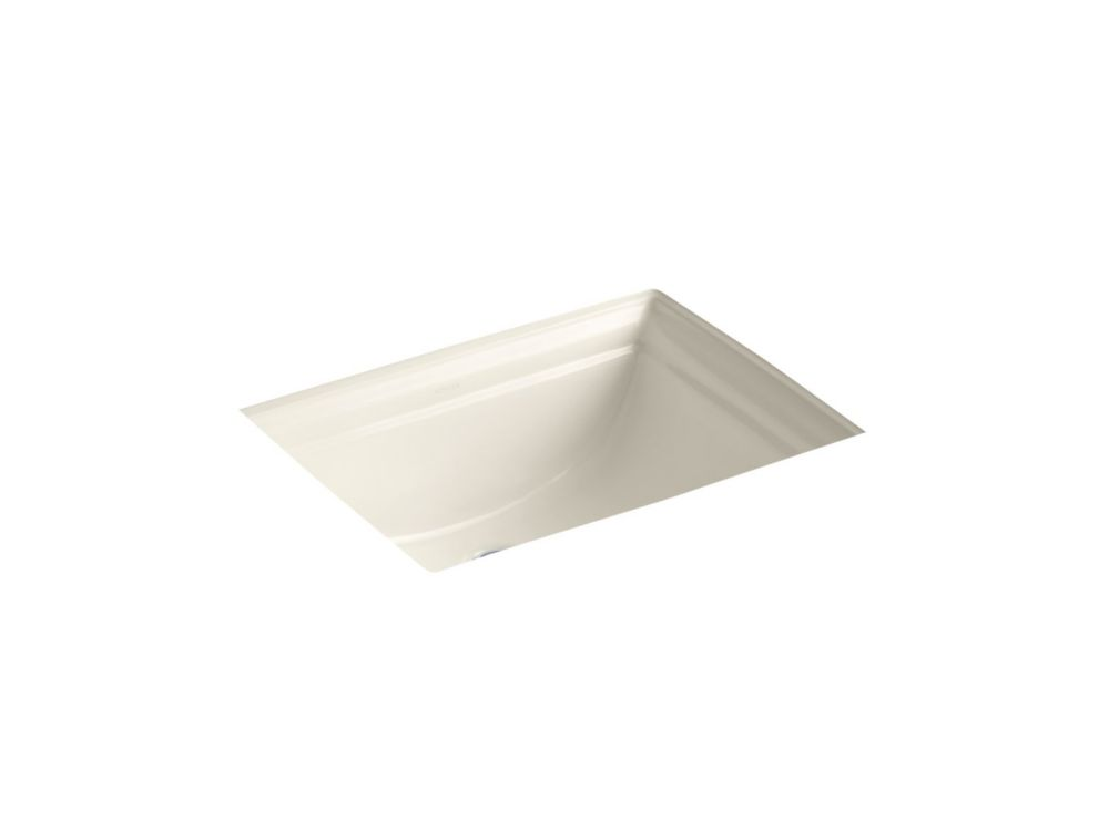 Memoirs 20 11/16-inch L x 17 5/16-inch H Undercounter Bathroom Sink in Almond