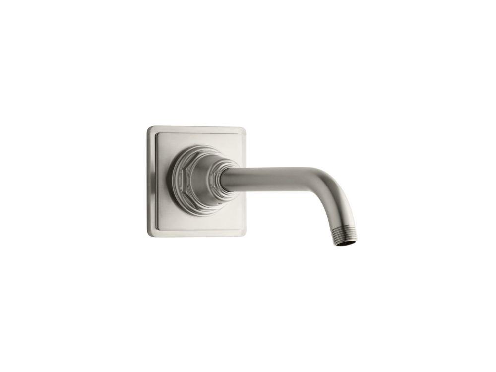 KOHLER Pinstripe Shower Arm And Flange in Vibrant Brushed Nickel