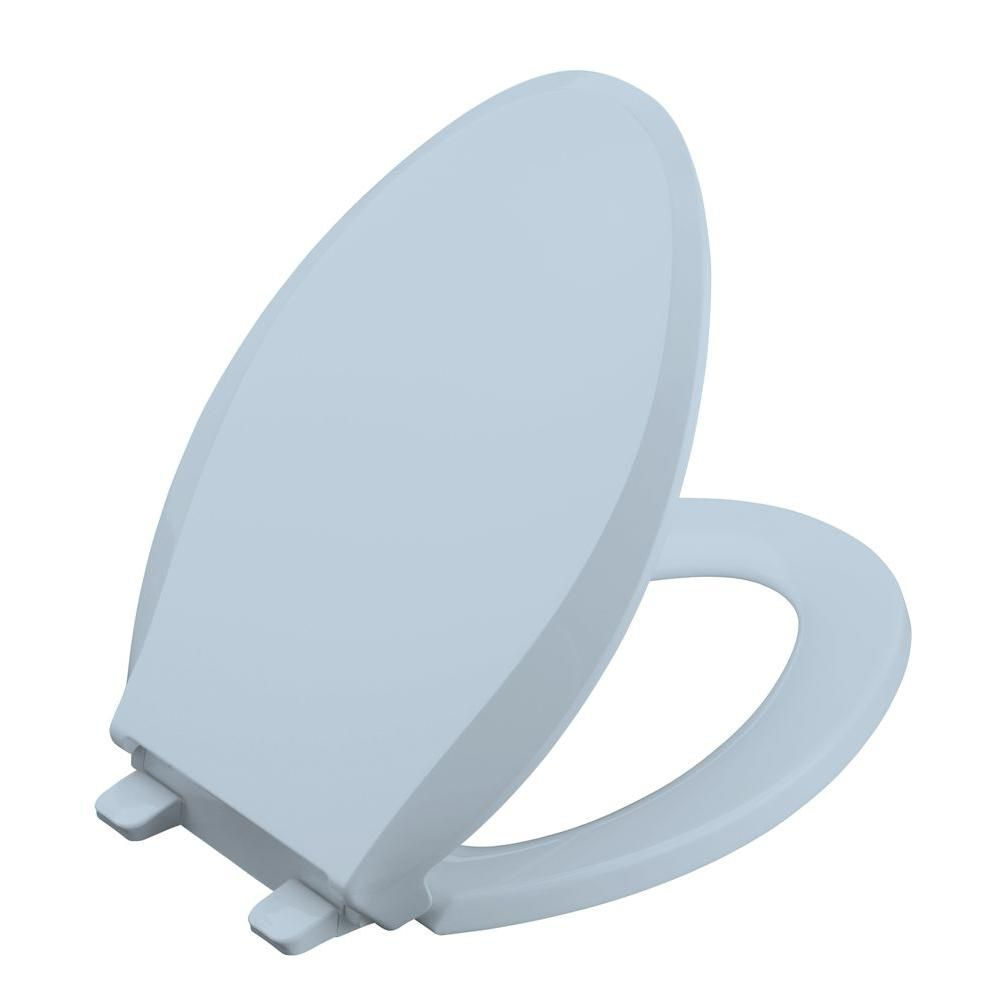 Stupendous Kohler Cachet Quiet Close Elongated Toilet Seat In Gmtry Best Dining Table And Chair Ideas Images Gmtryco