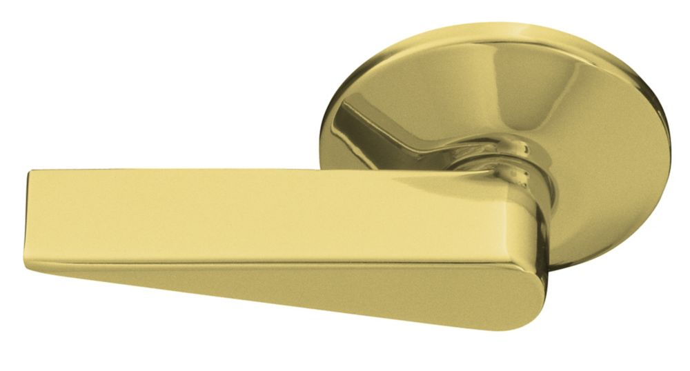 Cimarron Blade Style Left-Hand Trip Lever in Vibrant Polished Brass