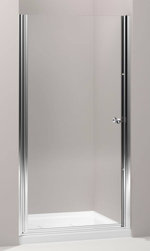 Kohler Fluence 3 8 Inch Thick Glass Bypass Shower Door In