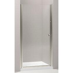 KOHLER Fluence Frameless Pivot Shower Door in Matte Nickel