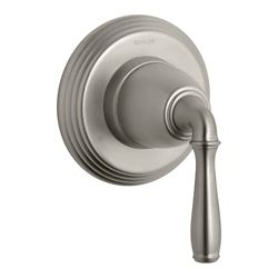 KOHLER Devonshire Transfer Valve Trim, Valve Not Included in Vibrant Brushed Nickel