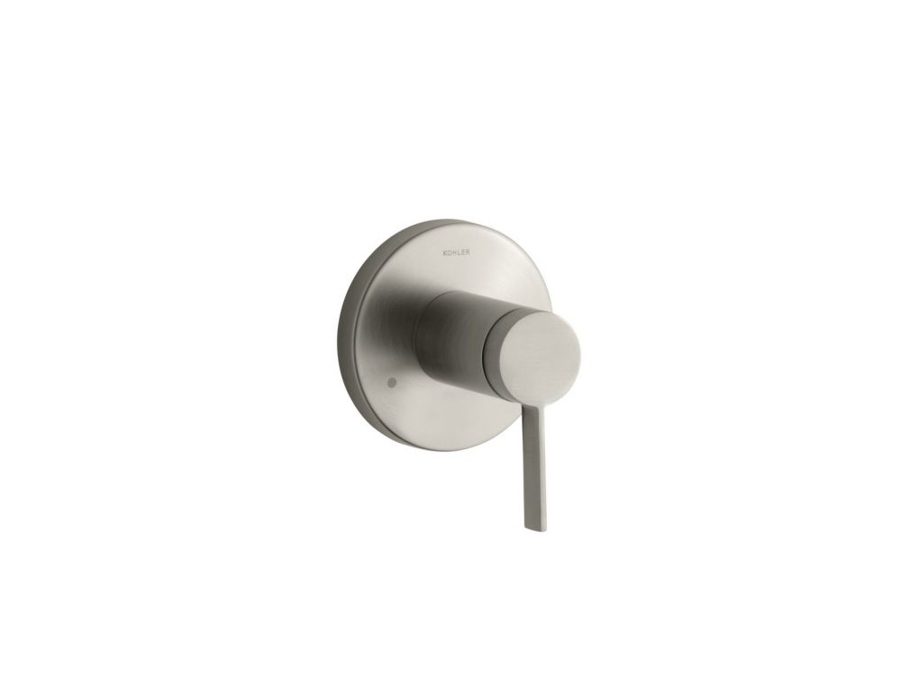 Stillness Transfer Valve Trim, Valve Not Included in Vibrant Brushed Nickel