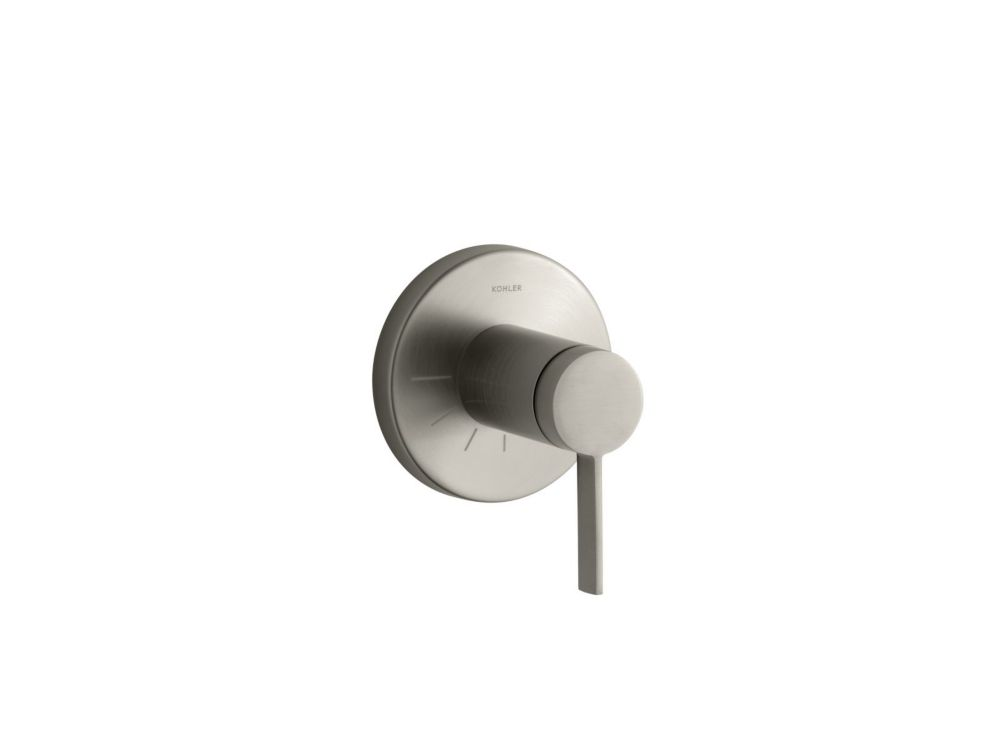 Stillness Volume Control Valve Trim, Valve Not Included in Vibrant Brushed Nickel