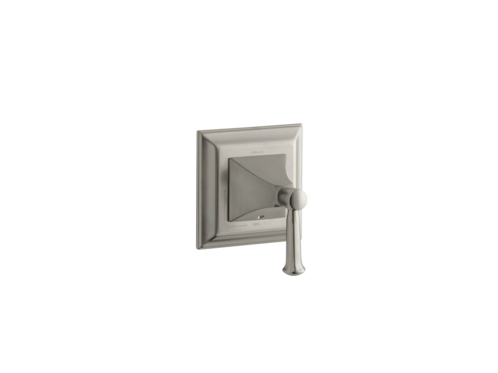 Memoirs Volume Control Valve Trim With Stately Design, Valve Not Included in Vibrant Brushed Nick...