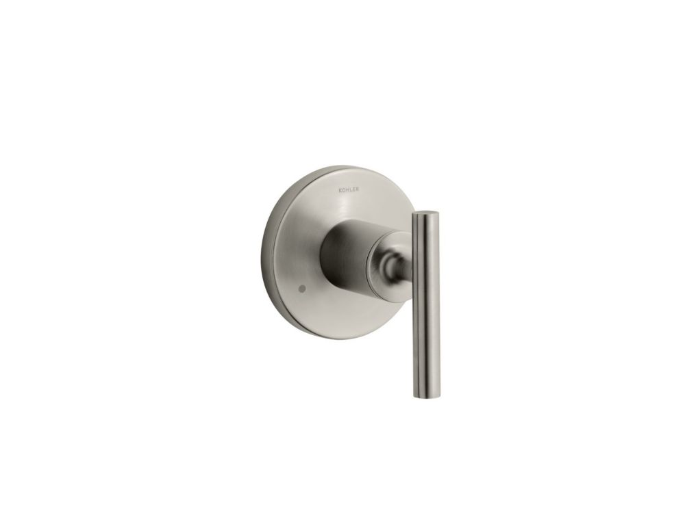 Purist<sup>®</sup> Transfer Valve Faucet in Vibrant Brushed Nickel