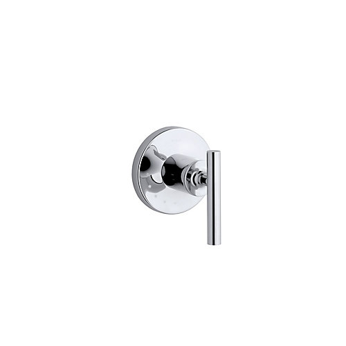 Purist Volume Control Valve Trim, Valve Not Included in Polished Chrome