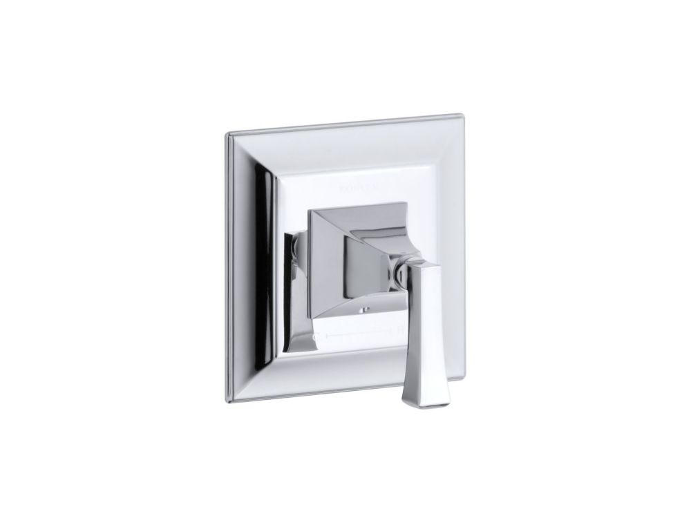 Memoirs Thermostatic Valve Trim With Stately Design, Valve Not Included in Polished Chrome