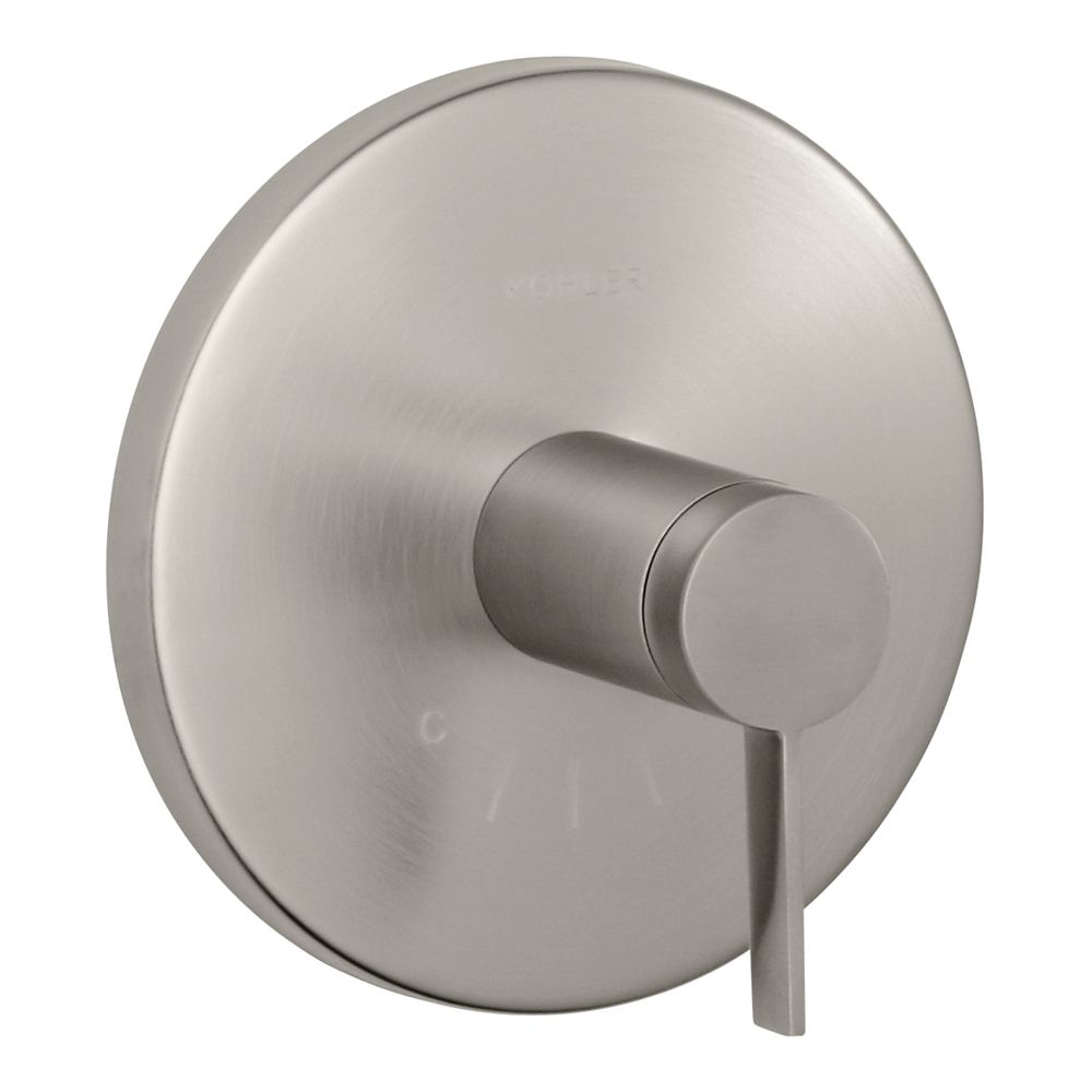 Stillness Thermostatic Valve Trim, Valve Not Included in Vibrant Brushed Nickel