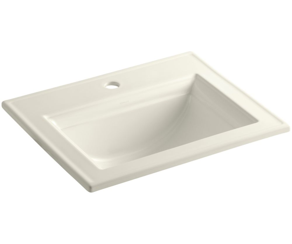 Bathroom Sinks Kohler : KOHLER Memoirs 22 3/4-inch L x 18-inch H Self-Rimming Bathroom Sink in ...