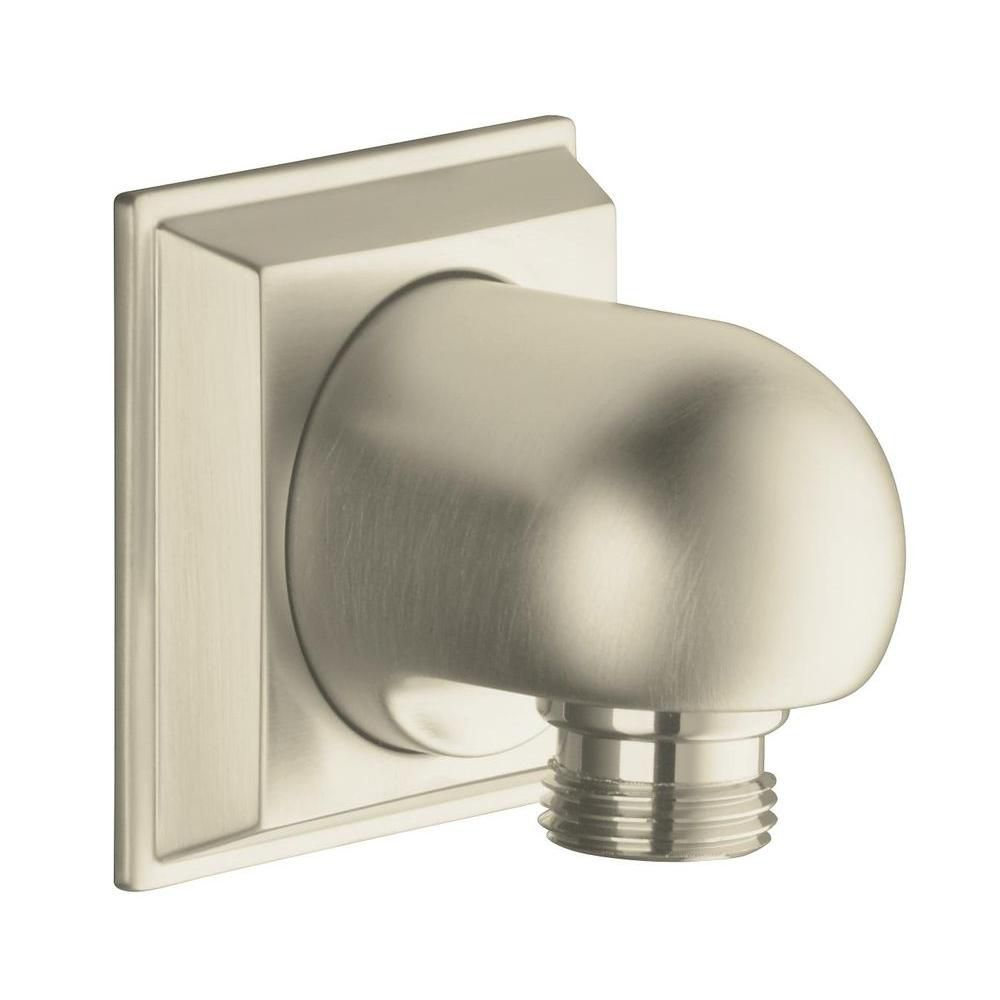 Memoirs Wall-Mount Supply Elbow in Vibrant Brushed Nickel