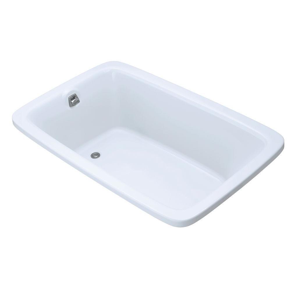 KOHLER Bancroft 5 Feet 6-Inch Bathtub in White