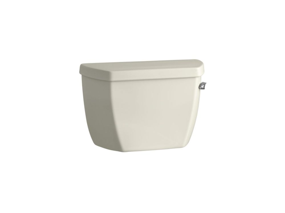 Highline Pressure Lite<sup>®</sup> 1.4 GPF Single Flush Toilet Tank Only in Biscuit