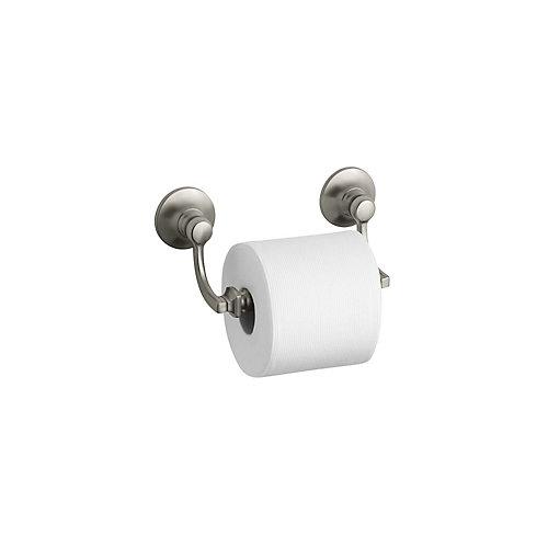Bancroft Toilet Tissue Holder in Vibrant Brushed Nickel