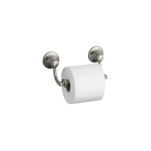 KOHLER Bancroft Toilet Tissue Holder in Vibrant Brushed Nickel