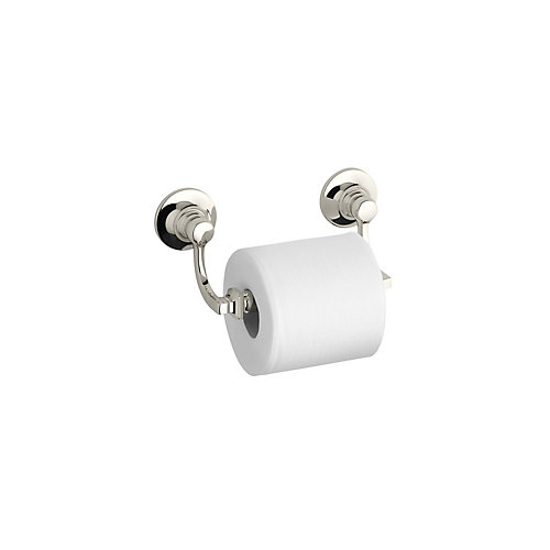 Bancroft Toilet Tissue Holder in Vibrant Polished Nickel