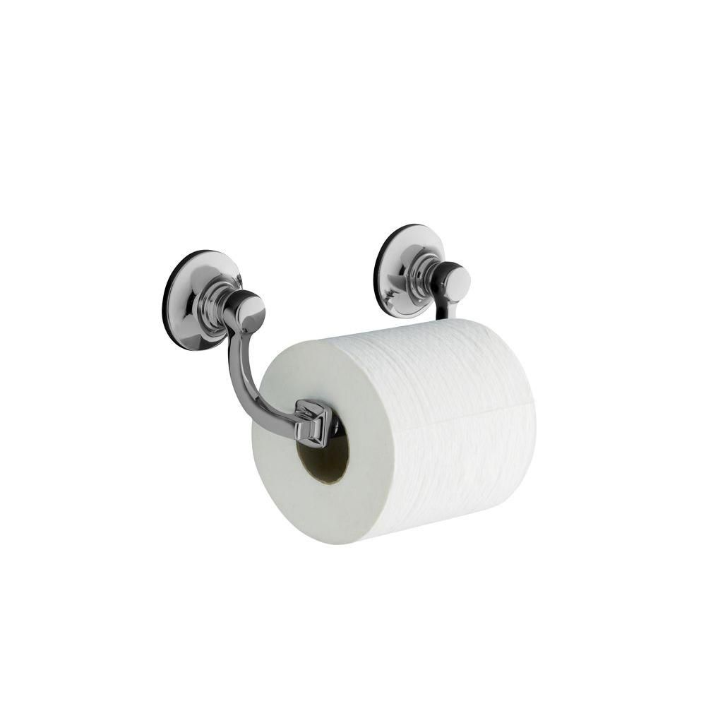 KOHLER Bancroft Toilet Tissue Holder in Polished Chrome