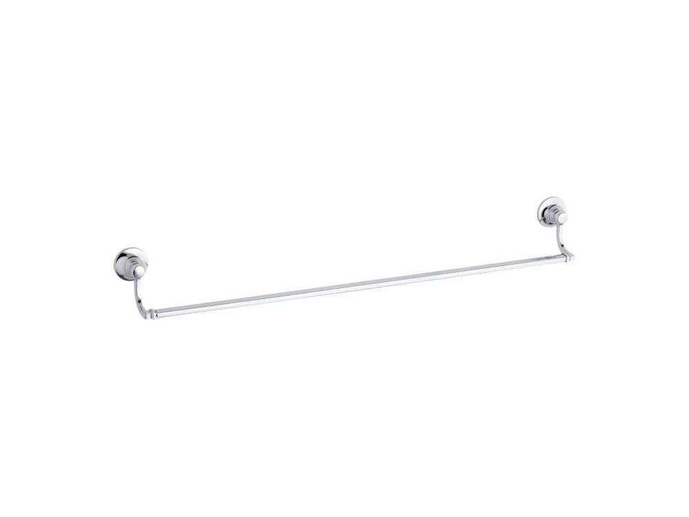 Bancroft 30 Inch Towel Bar in Polished Chrome