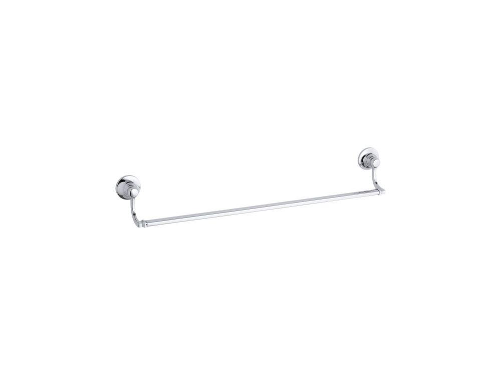 KOHLER Bancroft 24 Inch Towel Bar in Polished Chrome