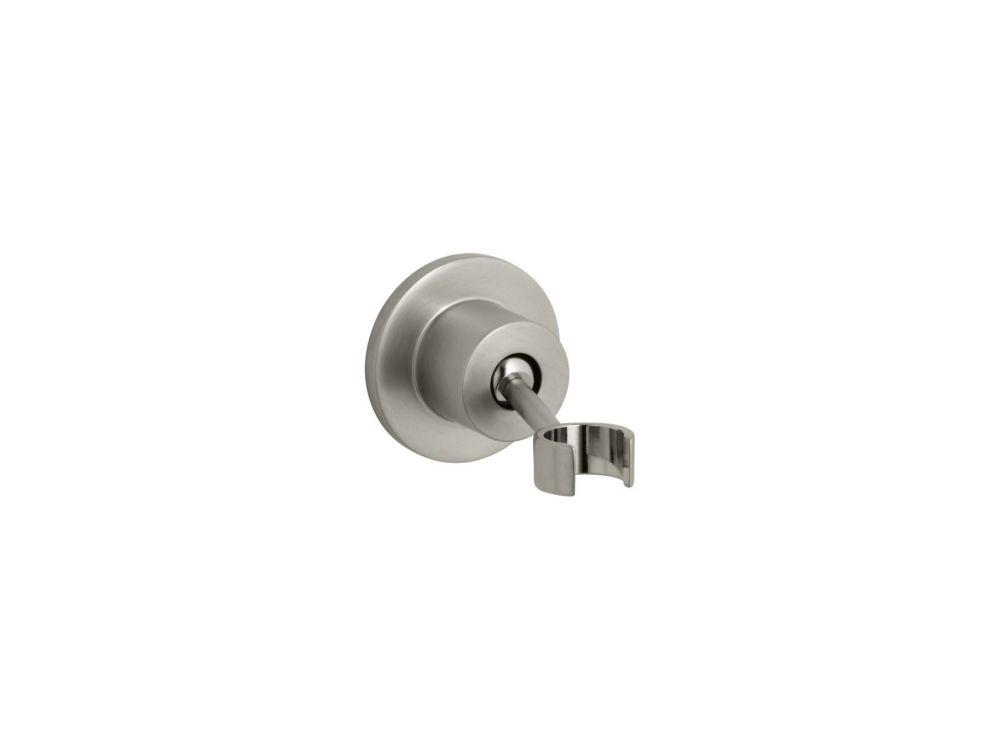 KOHLER Stillness Adjustable Wall-Mount Bracket in Vibrant Brushed Nickel